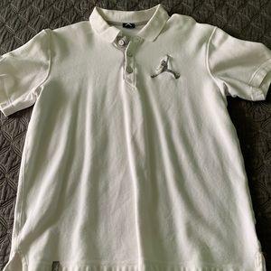 Large Jordan polo short sleeve white
